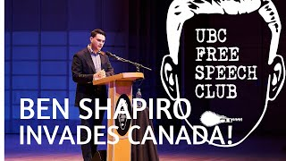 Download Ben Shapiro Invades Canada! | UBC Free Speech Club Talk Video