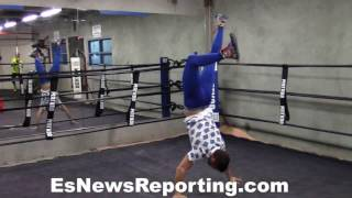 Download Vasyl Lomachenko Exclusive vid Full Workout And Interview - esnews boxing Video