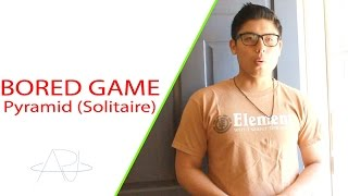 Download BORED GAMES: HOW TO PLAY PYRAMID (SOLITAIRE) Video