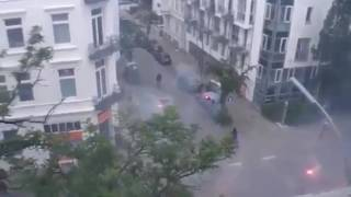 Download Anwohnervideo Hamburg G20-Gipfel - ″ANTIFA im Kampf gegen den Bürger″ Video