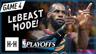 Download LeBron James EPIC Full Game 4 Highlights vs Celtics 2018 Playoffs ECF - 44 Points, LeBOSTON! Video