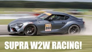 Download 2020 Toyota Supra Wheel-To-Wheel Racing! CSCS Max Attack TMP Cayuga - Project TA90 #5 Video