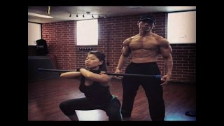 Download DAVID YEUNG BOLO JR - LEGS WORKOUT 2014' Video