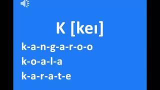 Download Phát âm bảng chữ cái tiếng Anh chuẩn Video