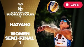 Download Haiyang 3-Star - 2018 FIVB Beach Volleyball World Tour - Women Semi Final 1 Video
