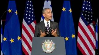 Download President Obama's speech at the SNFCC Video