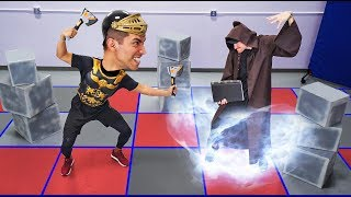 Download NERF Dungeons & Dragons Challenge! [Ep. 1] Video
