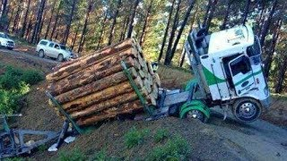 Download Heavy Logging Trucks,Timber, Wood Harvesting & Agricultural Machine Stuck on Mud & Dense Snow Video