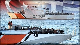 Download EUROPE ON 'BRINK OF WAR' AS TURKEY GATHERS BOATS TO SHIP MIGRANTS TO GREECE OVER EU ANGER Video