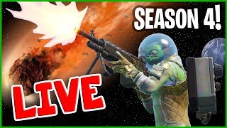 Download NEW Fortnite Season 4 - Fortnite Victory Royale w/ Mini Ninja on Live Stream! Video