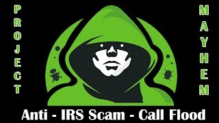 Download Revenge on a IRS Phone Scamming Company - Call Flooder Video