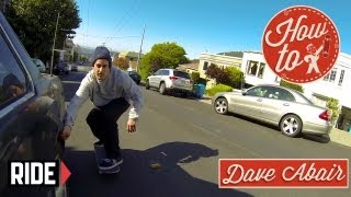Download How-To Skateboarding: Skitching Cars with Dave Abair Video