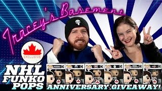 Download NHL Funko Pop Canada Exclusives + GIVEAWAY for our 1 Year Anniversary of Tracey's Basement!!! Video