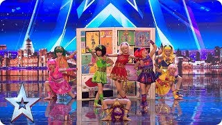 Download Cartoon Heroes come to life on our stage! | Auditions | BGT 2018 Video