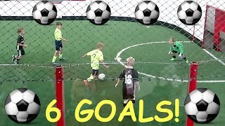 Download ⚽️KID SCORES 6 SOCCER GOALS IN 1 GAME!⚽️ Video