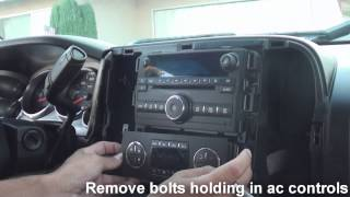 Download How to remove factory stereo chevy silverado 2007 and up Video