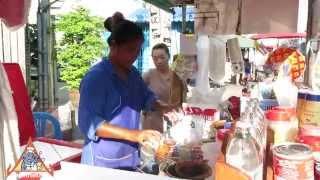 Download Thai Street Vendor Iced Tea and Coffee Drinks Video