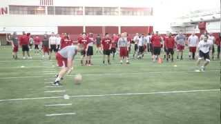 Download Wisconsin Football: Badgers Play Dodgeball Video