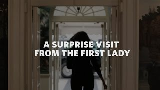 Download A Surprise Visit from the First Lady! Video