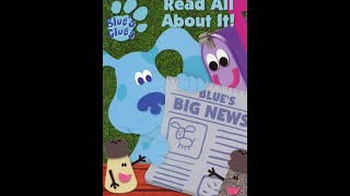 Download Closing to Blue's Clues Blue's BIG News Read All About It 2001 VHS Video