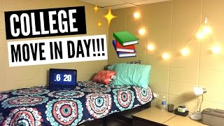Download College Move In Day 2016 Vlog! Video