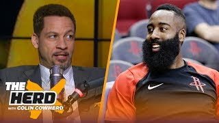 Download Chris Broussard talks James Harden's MVP pace, the Lakers & Jimmy Butler's attitude | NBA | THE HERD Video