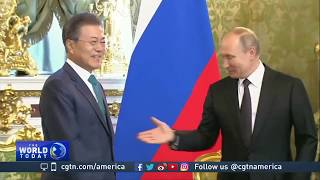 Download Moon, Putin vow to boost economic ties, work together on DPRK Video