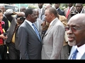 Download Uhuru Blasts Raila in Public :″ Raila amekubali Tumemshinda ndo maana Kila Saa He Keeps Crying .″ Video