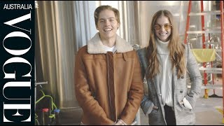 Download Barbara Palvin's day off includes coffee, workouts and lots of Dylan Sprouse Video