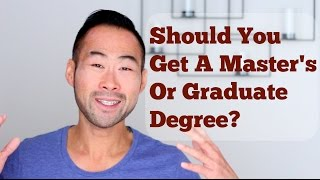 Download Should You Pursue A Master's Degree (or Graduate Degree)? Video