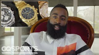 Download James Harden Shows Off His Insane Jewelry Collection | GQ Video