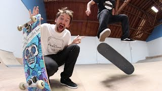 Download CAN AARON WIN HEELFLIPS ONLY GAME OF SKATE?! Video