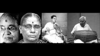 Download Brinda-Mukta, Annnavarappu Ramaswami, Karaikudi Krishnamurthi - 1965- Music Academy Video
