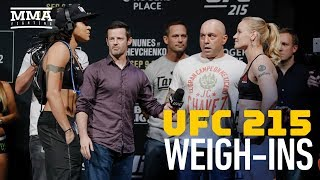 Download UFC 215 Ceremonial Weigh-Ins - MMA Fighting Video