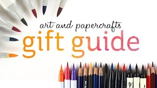 Download Art and Papercrafting Holiday Gift Guide Video