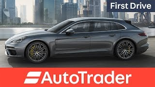Download Porsche Panamera Sport Turismo first drive review Video