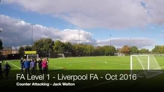 Download Counter Attacking Practice FA Level 1In Coaching Football Video