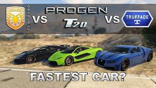 Download Progen T20 vs Osiris vs Zentorno vs Adder - ″GTA 5 Ill Gotten Gains Part 2″ Video