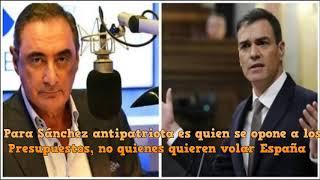 Download Para Sánchez antipatriota es quien se opone a los Presupuestos, no quienes quieren volar España Video