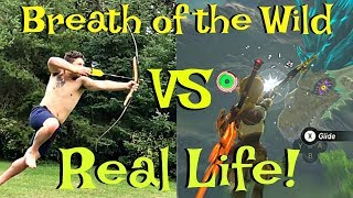Download Zelda Breath Of The Wild Vs Real Life Funny Comparison & Funny Moments! (Botw) Video