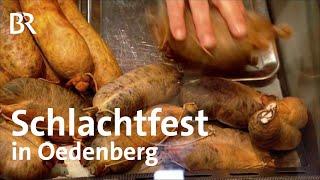 Download Kesselfleisch: Schlachtfest in Oedenberg | Zwischen Spessart und Karwendel | BR | Doku | Reportage Video