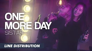 Download SISTAR (씨스타) - One More Day (원 모어 데이) | Line Distribution Video
