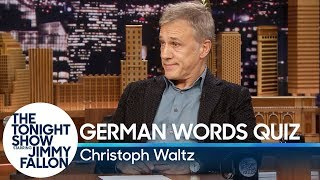 Download Christoph Waltz Gives Jimmy Fallon a German Words Quiz Video