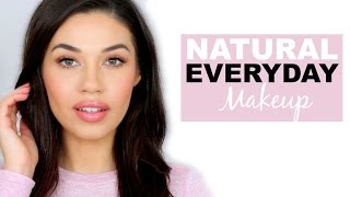 Download Simple Natural Everyday Drugstore Makeup Tutorial | How to Makeup for School or Work | Eman Video