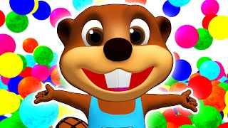 Download SUPER CIRCUS 3D Color Cars Jump | Learn Colours, Toy Surprise by Busy Beavers Video