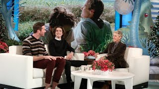 Download Armie Hammer and Timothée Chalamet Talk Passionate First Rehearsal Video