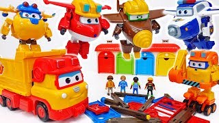 Download Let's Build A Playground To Children~! Super Wings Build It Buddies #ToyMartTV Video