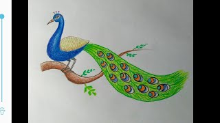 Download How to make peacock sitting on the branch easy steps.. Video