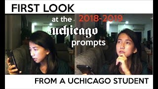 Download FIRST IMPRESSIONS: NEW UCHICAGO PROMPTS 2018-19 Video