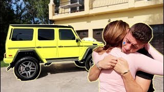 Download WE MADE HIM CRY...THIS IS HIS DREAM CAR!!! Video